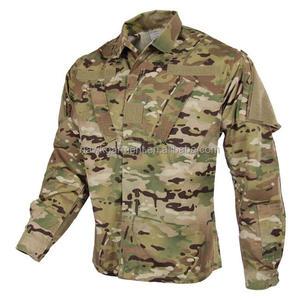 Custom 50/50 Nylon Cotton Tactical Multicam Jacket Hunting Coat ACU Military Uniform Army Clothing(ACU024)