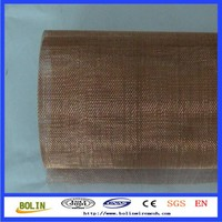 Copper/phosphor bronze woven wire decorative mesh(Free Sample)