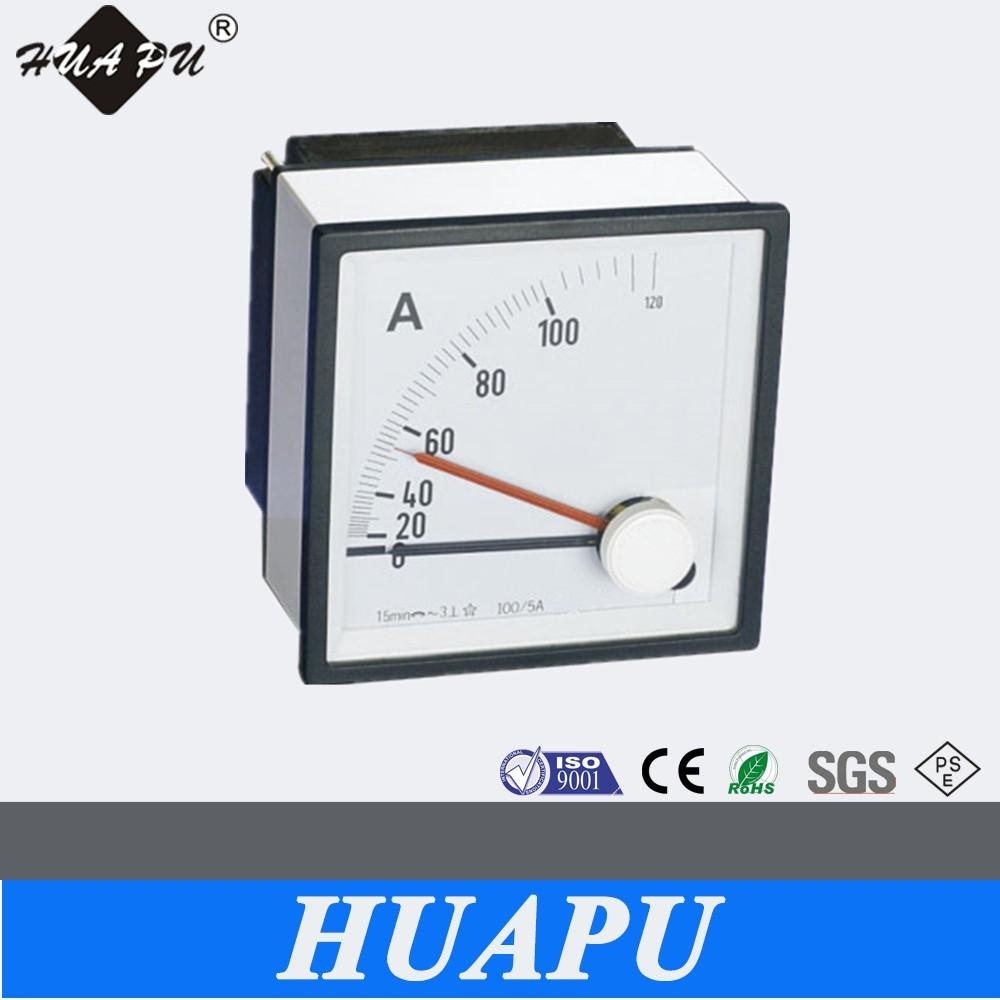 72*72 Maximum Demand Ammeter/voltmeter/analog Panel Meter - Buy ... for Analog Ammeter And Voltmeter  55dqh