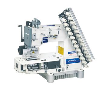 Multi aguja cadena puntada doble industrial siruba Precio de máquina de  coser f9191de305d