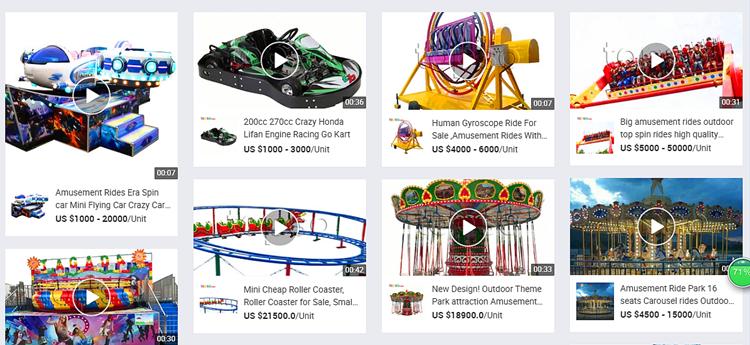 Kinderen Plezier Park Carnaval Spelletjes Pretpark Kinderen Ritten Attracties