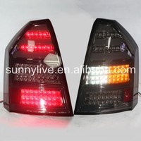 LED Tail Lamp 2005-2008 year For Chrysler 300C Smoke Black JY