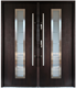 Double entry security stainless steel door for sale