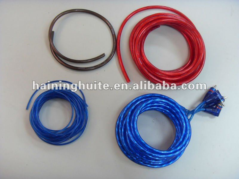 professional amplifier wiring kit