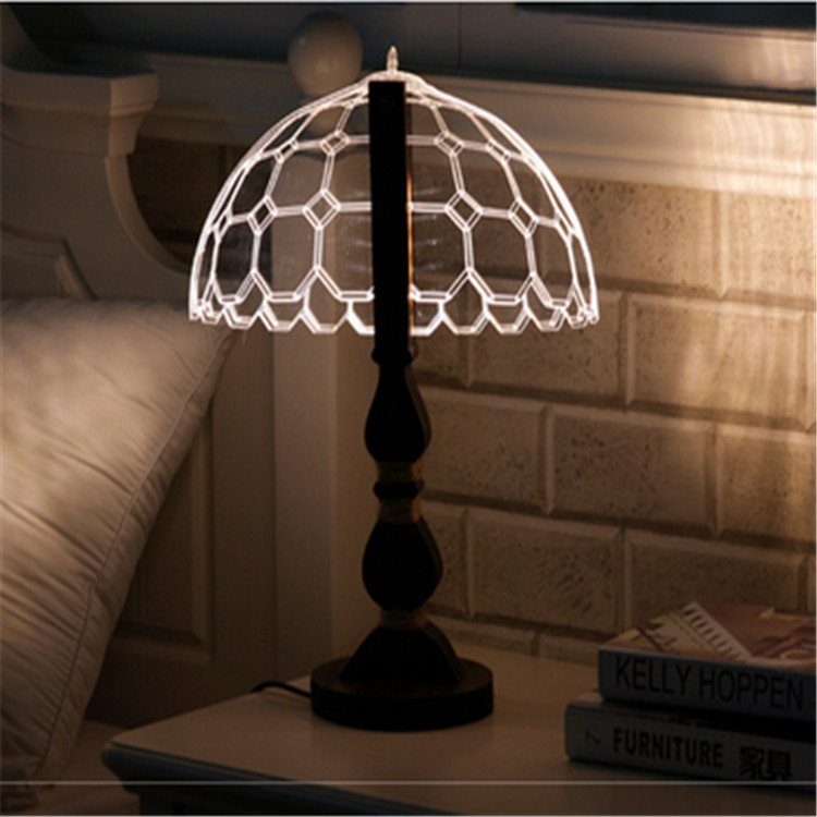 bedroom sets led table lamp for luxury hotel decoration light smart lighting