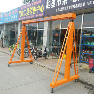 Chinese Supplier Factory Electric Mobile 5 Ton Portable Mobile Gantry Crane Price Wheels 30 Ton