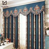 Turkish curtain fabric type of living room curtain