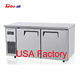 GN gastronorm pan Under Counter Work Table Refrigerator Freezer