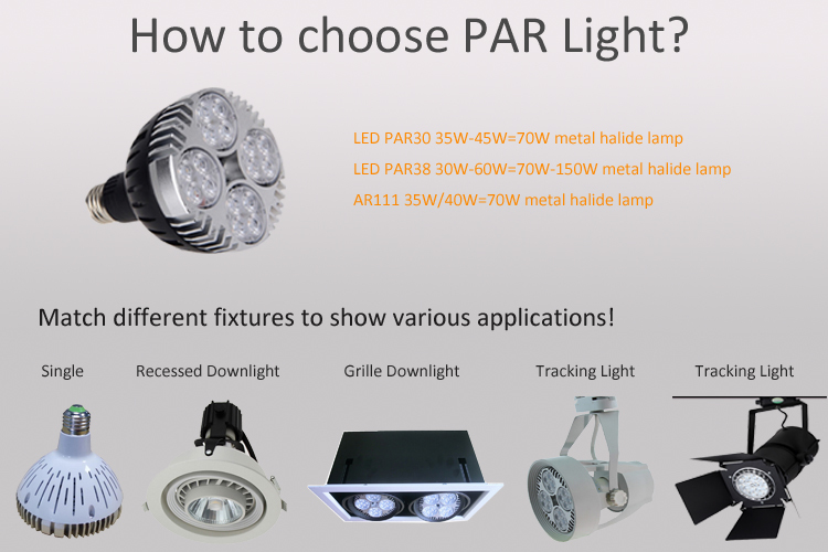 Wholesale best selling dimmable 35W led par30 bulb china online ...