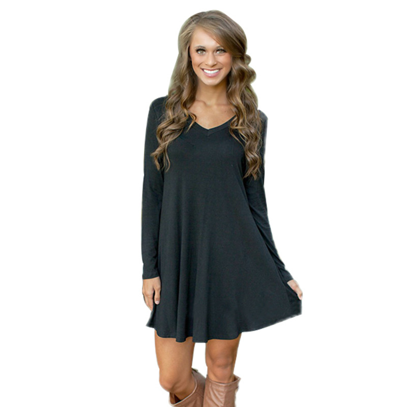 Find long sleeve t-shirt dresses at ShopStyle. Shop the latest collection of long sleeve t-shirt dresses from the most popular stores - all in one.