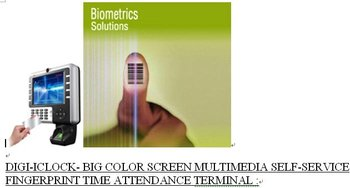 Digi-iclock- Biometric Solution-multimedia Fingerprint Time Attendance  Terminal,Dubai,Uae - Buy Fingerprint Time Attendance Terminal Product on