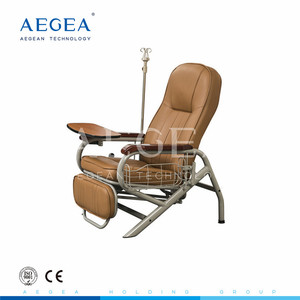 AG-AC006 PVC leather waterproof cover medical used patient infusion seats hospital injection chair