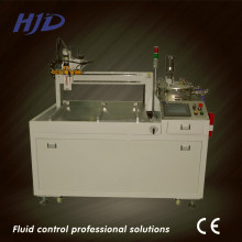 Two component epoxy resin mixing and potting machine