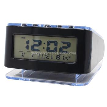 Battery Powered Desktop Lcd Digital Calendar Retro Alarm Clock - Buy Retro  Alarm Clock,Digital Alarm Clock,Clock Product on Alibaba com