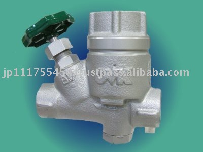 Bypass valve built in Steam Trap
