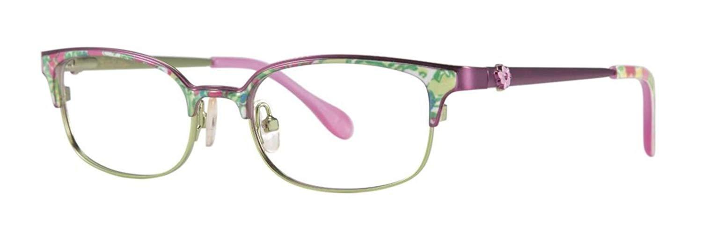 LILLY PULITZER Eyeglasses TOPANGA Aqua 47MM