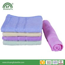 OEM Soft Bamboo Fiber Face Towel With High Qulaity For Family