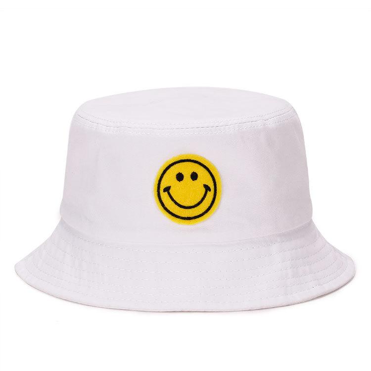 new concept 6ebb6 149ec Blank anime all'ingrosso plain colore bianco bambini arancione divertente  emoji a buon mercato polo ralph lauren personalizzato viso berretto di  pesca ...