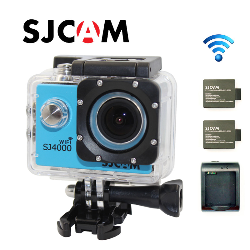 Free Shipping!!SJCAM Original SJ4000 WIFI Diving 30M Waterproof Action Camera
