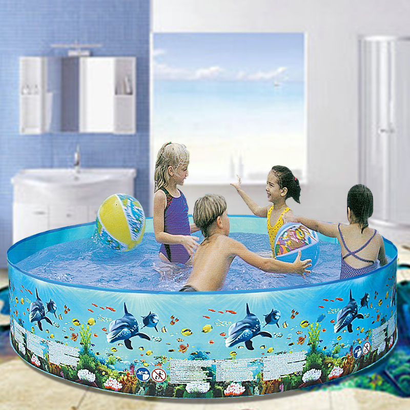 Kids Play Round Swimming Pool Cute Cartoon 5FT