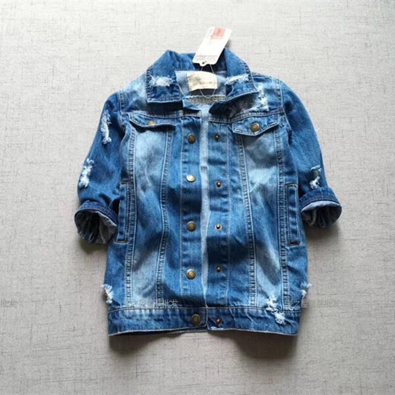 Alibaba.com / Kids denim jacket baby tassel children clothes girl denim coat fashon boutiques kids clothes wholesale bulk baby outfit