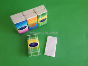 Mini pocket tissue paper