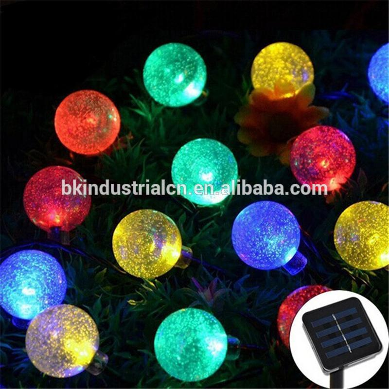 Qatar Led Solar Christmas Ball Light Christmas Decoration Led ...
