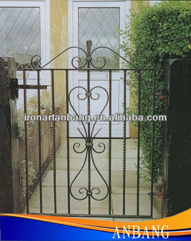AB Decorative Wrought Iron Garden Entrance Door Small Gate