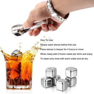 FDA & LFGB hot selling amazon whiskey rocks bar accessories LFK-IC01