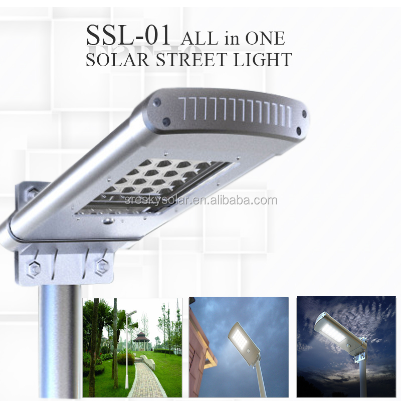 All In One Solar Dc China Ge Led Street Light Esl-07