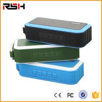 Waterproof Bluetooth Speaker Portable Rechargeable Stereo Shockproof & Dustproof Wireless Speaker for Bicycles, Smartphones & PC