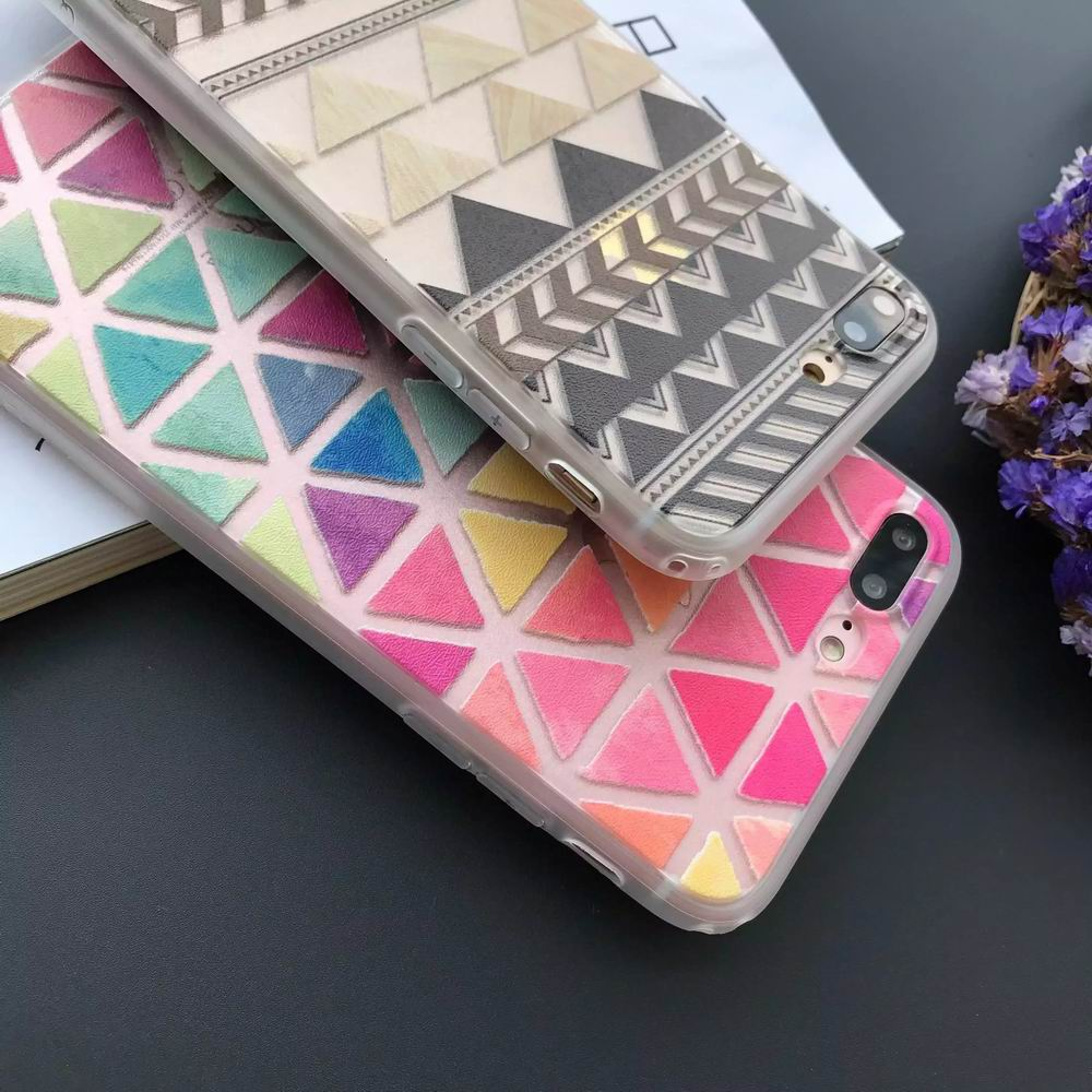 2018 New Cute Grid Soft TPU cell Phone case For iPhone accessories,Factory production, customized packaging,logo and products.