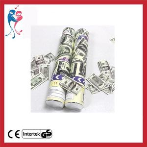 High Performance Dollar Money Confetti Party Popper With Great Low Prices!