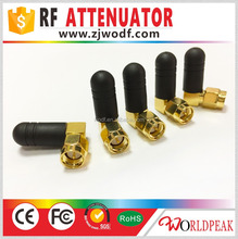 WIFI 3G 2.4G GSM GPRS SMA male right angle antenna 3cm length