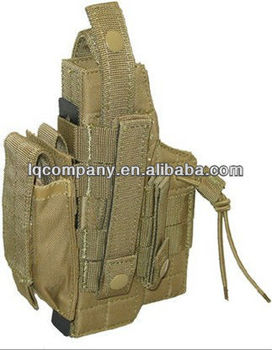 Modular Pistol Holster For Tactical Vest