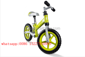 12 inch outdoor toy Baby first bike no pedal / excerising kids bike balance bike/kids push bike with suspension