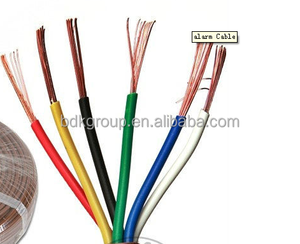 pvc insulated armoured power cable flexible cable 2.5mm2 single core copper wire