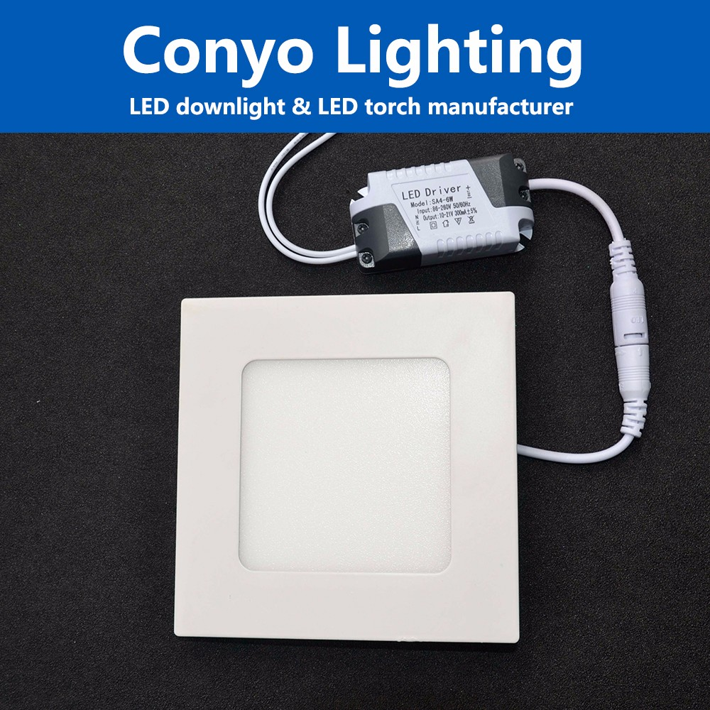 CE RoHS Approval 225m 68mm Cutting Hole 3W COB Led Downlight With IC Driver spare part