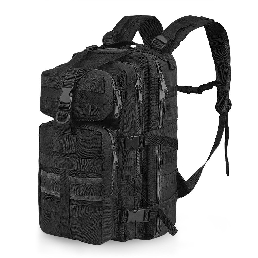 c77a3df49440 Get Quotations · Vbiger 35L Military Tactical Backpack Waterproof Outdoor  Trekking Camping Tactical Molle Bag Outdoor Gear Assault Pack
