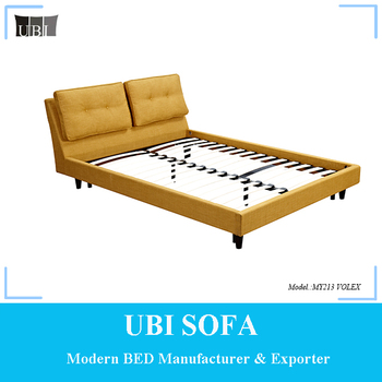 Simple Modern Design Fabric King Size Queen Size Double Size Bed