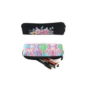 Personalized zippered Wholesale Neoprene Custom Printed pencil case / bag / pouch