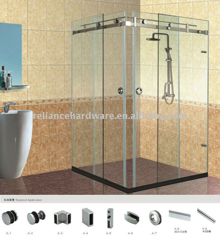 New Style Stainless Steel Sliding glass hardware fitting,glass fitting accessories,glass balustrade fitting