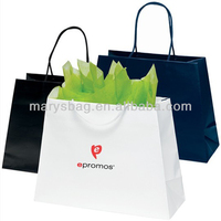 Reverse Trapezoid Logo Shopping Bag - Large - 16