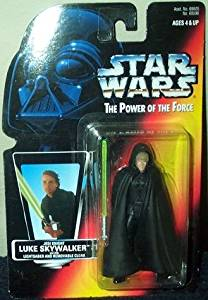 """Star Wars Power of the Force Movie Theatre Special Edition 3 3/4"""" Jedi Knight Luke Skywalker Action Figure"""