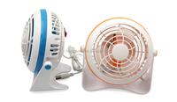 Promotional rotating Plastic USB Fan