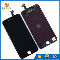 Grade AAA 100% Test 1 Year Warranty for LCD iPhone 6 Display with Touch Screen Digitizer Assembly Replacement, for iphone 6 LCD