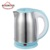 1.8 Liter Electric Tea Kettle With Flower Printed Stainless Steel Body Fast Boiling Cordless Hot Water Kettle 1500W