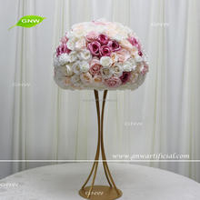 GNW CTRA1705023 New fashionable artifical rose modeling wedding table centerpiece decoration for sale