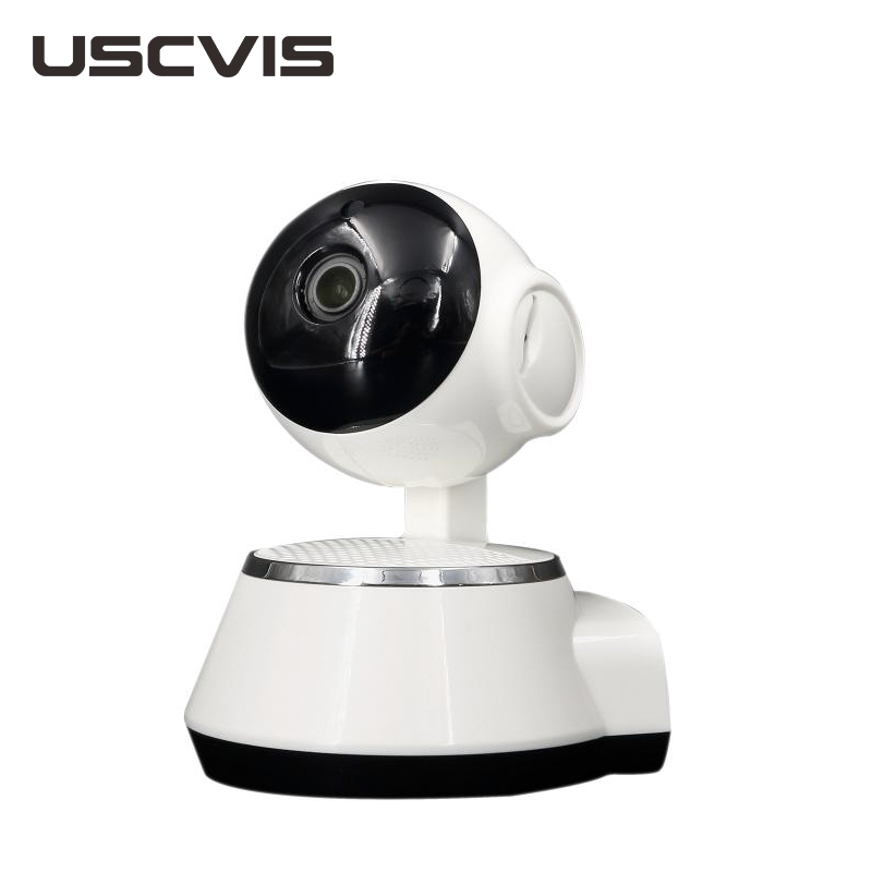 China cheapest cctv camera for home security robot panoramic wifi ip camera with sd card v380 robot camera