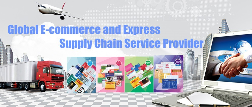 Printed express document envelope
